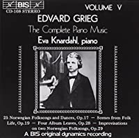 V 5: Complete Piano Music by EDVARD GRIEG (1994-09-22)