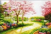 クロスステッチ刺繍キットSpring garden-111204