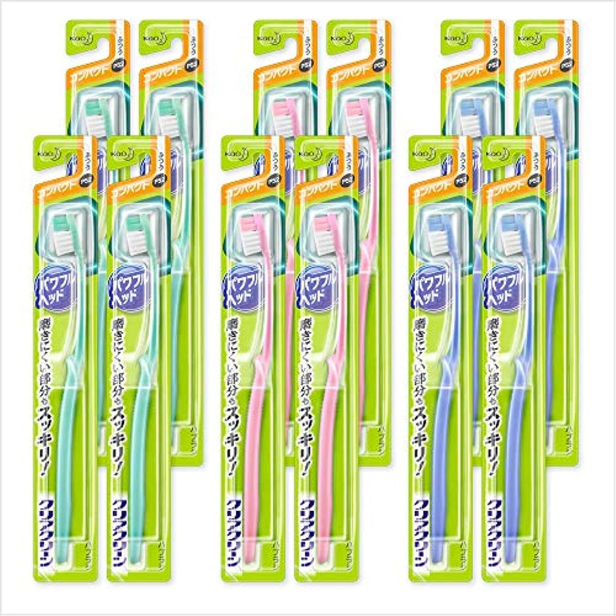 調和のとれた快適お誕生日【まとめ買い】クリアクリーン パワフルヘッド コンパクト ふつう 12本セット