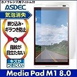 アスデック 【ノングレアフィルム3】 Y!mobile Media Pad M1 8.0 防指紋・気泡が消失するフィルム NGB-403HW