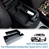 Vesul Armrest Secondary Storage Box Glove Pallet Center Console Tray For Mitsubishi Outlander Sport 2012 2013 2014 2015 2016