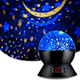 Star Sky Night LampANTEQI Baby Lights?360 Degree Romantic Room Rotating Cosmos Star Projector With LED Timer Auto-Shut OffUSB