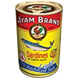 Sardines in Light Tomato Sauce | Large Pieces | No Preservatives | Halal & Healthier Choice | Fish | Omega 3 | Calcium, Antio