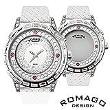 正規品スワロフスキー・ミラー文字盤腕時計 RM006-1477SV-WH SVWH 【1点】