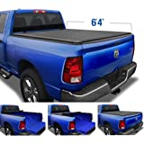 Tyger Auto 6.4 T1 Roll Up Truck Tonneau Cover TG-BC1D9014 Works with 2002-2019 1500 (2019 Classic ONLY) 2003-2018 Dodge 2500