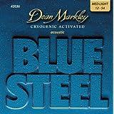 DEAN MARKLEY ディーン マークレイ アコースティックギター弦 BlueSteel Acoustic ML 2036  .012-.054 【国内正規品】