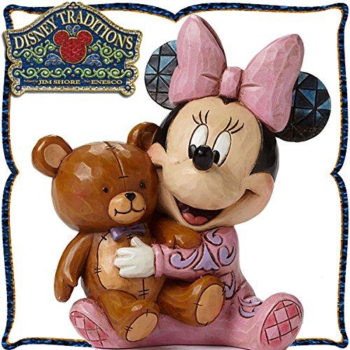 디즈니 목각조 피규어 베이비 미니 (미니 마우스) 디즈니・tradition