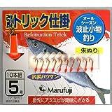 Marufuji(マルフジ) PW-51S 改良トリック朱10本 5号