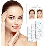 Rissing Face Lift Sticker Double Chin Reducer Face Lift Tape Thin Face Invisible Artifact Sticker Tapes for Instant Face, Nec