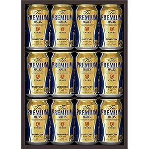 【中元ギフト好適品】サントリー ザ・プレミアム・モルツ ビールセット350ml×12本 BPC3N