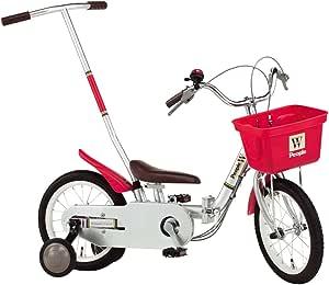 People(ピープル) いきなり自転車W 14インチ プラチナ YG238