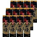 本格芋焼酎 さつま木挽(黒麹)25度1800mlパック 2ケース(12本)