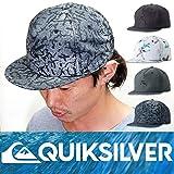 クイックシルバーサーフ、アウトドアキャップ・SURF OUTDOOR SNAPBACK CAP ワンサイズフリー BBK