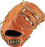 ZETT(ゼット) 野球 軟式 ファーストミット ウイニングロード 左投用 ウッディブラウン(3500) RH BRFB33813