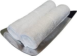 おしぼり (ハンドタオル)おしぼりタオル 業務用 白 80匁 綿100% 1枚