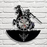 Zelda Art Vinyl Wall Clock Gift Room Modern Home Record Vintage Decoration - Win a prize for feedback