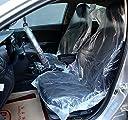 シートカバー 養生カバー 100枚 入り 自動車 運転席 助手席 シート 保護 ビニール 使い捨て 汚れ防止