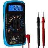 Baosity Digital Multimeter AC DC Volt Ohm Amp Meter Voltage - Blue