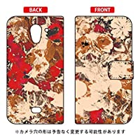 SECOND SKIN 手帳型スマートフォンケース 藤本正平 「Because Her Beauty is Raw and Wild」 / for AQUOS CRYSTAL X 402SH/SoftBank  SSHCRX-IJTC-401-LJA1