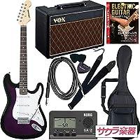 SELDER セルダー エレキギター ストラトキャスタータイプ サクラ楽器オリジナル ST-16/PPS VOXアンプ付属 スーパーリミテッドセット