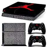 ジョーダン CAN? Ps4 Console Designer Protective Vinyl Skin Decal Cover for Sony Playstation 4 & Remote Dualshock 4 Wireless Controller Stickers - Basketball Legend Michael Jordan Shoes Box by CAN [並行輸入品]