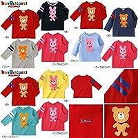 ミキハウス ホットビスケッツ(MIKIHOUSE HOT BISCUITS) Tシャツ 73-5209-783 90cm 赤
