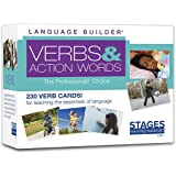 Stages Learning SLM011 Materials Language Builder Verb Flash Cards Photo Vocabulary Autism Learning Products For Aba Therapy