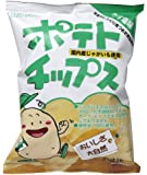 創健社 ポテトチップスうす塩味 60g ×5個