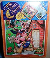 Once Upon A Puzzle 24 Pc Jigsaw Puzzle with Classic Story on Back By Patch Products [並行輸入品]