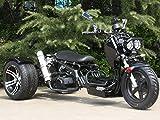 IceBear(アイスベアー) トライク 200cc 三輪バイク カスタム ローダウン仕様 黒 HL200KZB