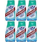 Colgate 2-IN-1歯磨き粉およびマウスウォッシュ、美白アイシーブラスト、4.6オンスチューブ(6パック) 6パック