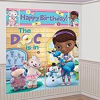 (ディズニー) Disney Doc McStuffins ドックはおもちゃドクター シーン セッター ウォール デコレーション キット 671352 [並行輸入品]