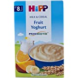 Hipp Organic Milk Pap Fruits Yogurt, 250g
