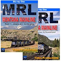 Montana Rail Link, Montana Mainline, 2 DVD Set: Jones Junction to Helena, Helena to Sandpoint