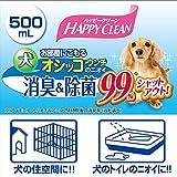 ペティオ (Petio) ハッピークリーン 犬オシッコ・ウンチのニオイ 消臭&除菌 500ml 画像