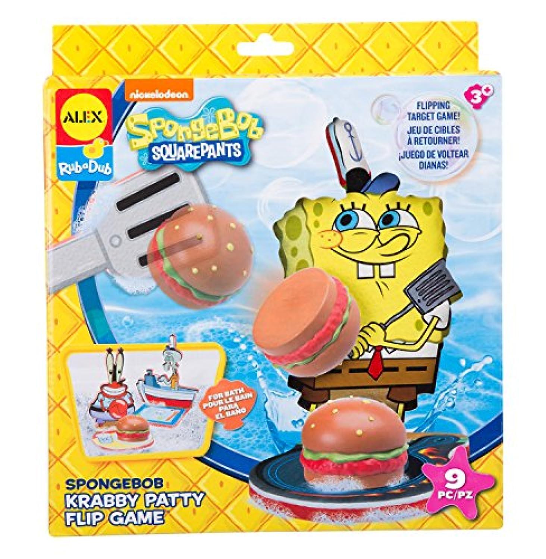 Spongebob Krabby PattyフリップゲームBath Toy