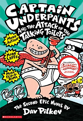 Captain Underpants and the Attack of the Talking Toiletsの詳細を見る