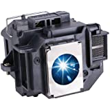 EWO'S ELP54 Replacement Projector Lamp Bulb for Epson ELPLP54/ELPLP58 Powerlite Home Cinema 705HD S7 S9 X9 S8 X7 EX31 EX51 EX