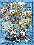 300ピース ジグソーパズル プチ2ライト 猫のダヤン ジタンの誕生日(16.5x21.5cm)