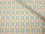 ナスカ リレ・スキップ キャンバス 生地 綿80% 麻20% 約110cm巾×1mカット col.2A CF10004-2