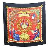 HERMES(エルメス)シルクスカーフ カレ90フランス革命記念 1789マルチカラー大判スカーフ アパレルレディース(中古)