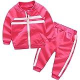 DAIMIDY Boys Girls 2 Pieces Sweatsuit, 2-13 Years