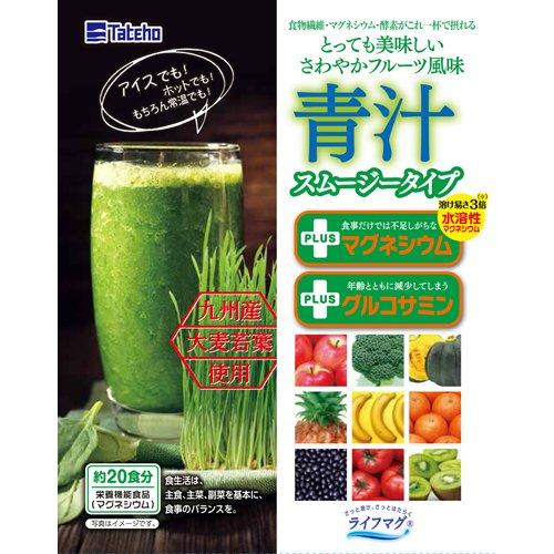 タテホ化学工業 青汁 スムージータイプ 100g 約20食分 健康食品 青汁 青汁 原材料別 [並行輸入品]
