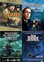 WW2 Movie Collection Classics Das Boot/Caine Mutiny/Anzio/Special Operations SAS Bulbasket + History Channel Dead Men's Secrets Documentary [並行輸入品]