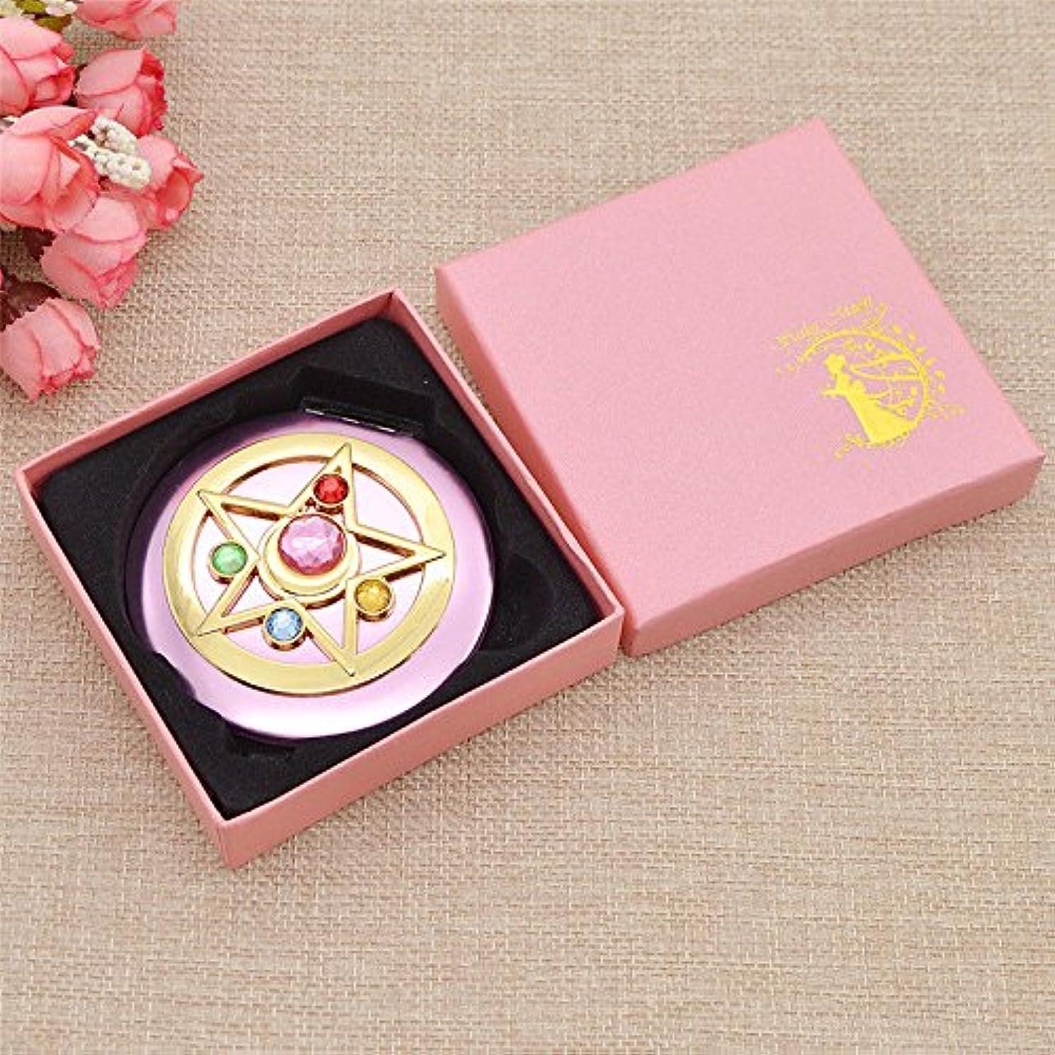 ペルーオーロック再生SailorMoon/SailorMooncrystal/MakeupMirror/Mirror/セーラームーン/セーラームーンクリスタル/メイクミラー/ミラー/鏡/Mini Anime Sailor Moon Make...
