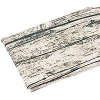 Souarts 綿麻 布 木目 生地 雑貨 ハンドメイド 手芸用 木目の色 96cmx52cm