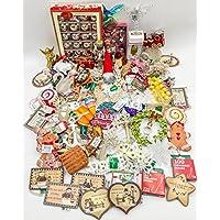 jzバンドルMegaセット – Best ofクリスマス装飾 – Kurt Adler – 76-pieceバンドル – Aバンドルのクリスマス装飾素晴らしいギフト