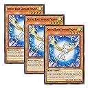【 3枚セット 】遊戯王 英語版 LED2-EN042 Crystal Beast Sapphire Pegasus 宝玉獣 サファイア ペガサス (ノーマル) 1st Edition