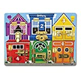 Melissa & Doug Personalized Latches Wooden Activity Board [並行輸入品]