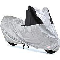 【Amazon.co.jp 限定】 デイトナ バイクカバー 3L シルバー 防水 風飛び防止 前後が分かる配色 97974